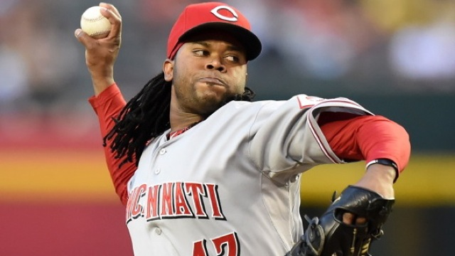 Cueto ranked in the top 2 in the NL in 2014 in ERA, wins, Ks, WHIP, BAA, and innings pitched